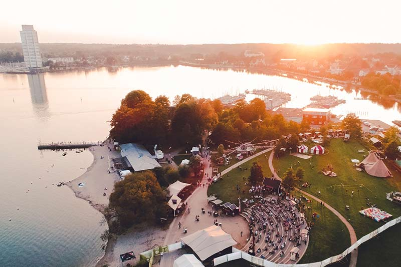 [Translate to English:] Norden Festival in Schleswig